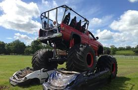 From £19 for a monster truck ride and car crushing experience, or from £29 with a 4x4 experience  at Wicked Adventures, Stoke - save up to 52%