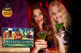 £7.49 instead of £14.99 (from Cheatwell Games) for a 101 Drinking Games Set - save 50%