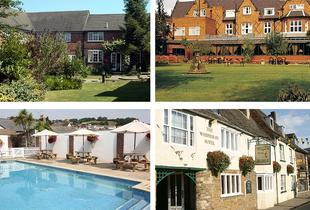 £99 for an overnight stay for 2 people including a 2-course dinner and breakfast at a choice of 29 hotels from Buyagift