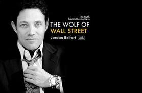 £54 for a gold ticket to 'The Wolf of Wall Street' Jordan Belfort Live @ ExCel Centre, £69 for VIP ticket, £499 for Platinum ticket - save up to 30%