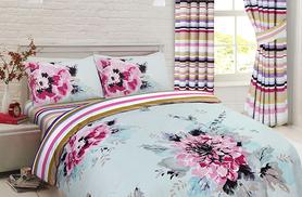 From £10 instead of up to £44.99 (from Groundlevel) for a single, double or king floral duvet set inc. a pillowcase - save up to 78%
