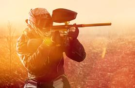 £5 (Nationwide Paintball) for a day of paintballing for up to 5 in a choice of over 60 locations, £9 for up to 10 or £14 for up to 20 - save up to 93%
