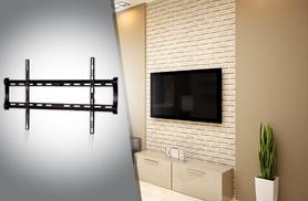 "£14.99 instead of £50 (from Kitchen Gadgets) for a black TV wall mount Suitable for 32"" - 60"" screens – save 70%"