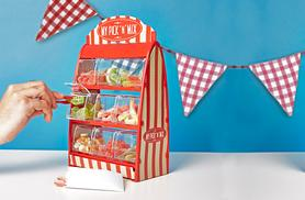 £9.99 (from 50Fifty) for a pick 'n' mix sweet stand including 9 x 40g tubs of sweets