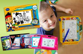 £9.99 instead of £19.99 (from Fancy Suits) for a large magnetic Disney drawing board in a choice of 6 designs - save 50%