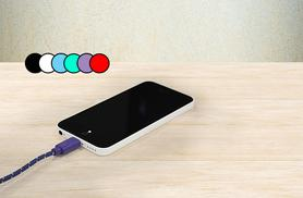 £3.99 instead of £14.99 (from Gizmo Gadgets) for a braided iphone 5/6 cable, £5.99 for two, or £7.99 for three- save up to 73%