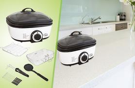 £39.99 instead of £99.99 for a 5-litre Quest 8-in-1 multicooker from Wowcher Direct – save 60%