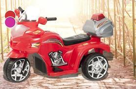 £34.99 (from Ebuyer) for a kids' electric police trike in red or pink + DELIVERY IS INCLUDED!