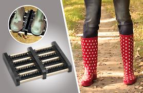 £9.99 instead of £29.99 for a doorstep shoe brush from Wowcher Direct - save 67%