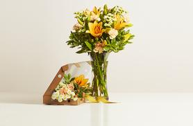 £9.95 instead of £17.96 (from Bloom & Wild) for a letterbox bouquet of flowers - send a beautiful bouquet and save 45%