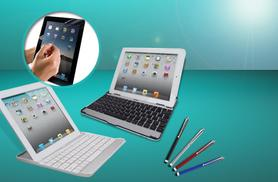 £11.99 instead of £72.99 (from Hedoo) for an aluminium iPad keyboard case, screen protector and stylus - save 84%