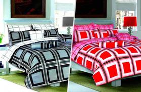£10 (from Your Essential Store) for a single Boston duvet set, £12 for a double, £14 for a king - save up to 75%