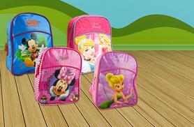 £4.99 instead of £9.99 (from Fancy Suits) for a Junior Disney backpack in a choice of 7 designs - save 50%