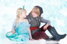 """£9 for a Frozen-inspired photoshoot for up to 2 children inc. two 10"""" x 8"""" prints at Mel Morland Photography"""