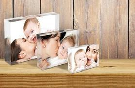 £16 instead of £74.99 (from 1clickprint) for three personalised acrylic photo blocks in A5, A6 and A7 size - save 79%