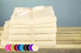 £14.99 instead of £79.99 (from Groundlevel) for a 5-piece luxury Egyptian cotton towel set in a choice of 10 colours - save 81%