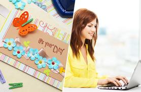 £12 instead of £199 (from SMART Majority) for an online card making course - save 94%