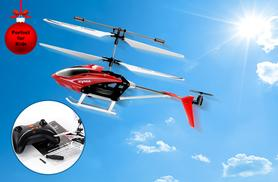 £14.99 instead of £39.99 (from Fancy Suits) for a SYMA S5 infrared 3CH remote control RC helicopter - save a high-flying 63%