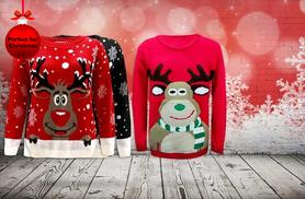 £9.99 instead of £39.99 (from Top Notch Fashion) for a Christmas jumper - pick from 26 designs and save 75%