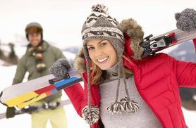 £12 for a 1-hour skiing or snowboarding taster lesson, £32 for three 90-minute lessons at Silksworth Sports Complex - save up to 45%