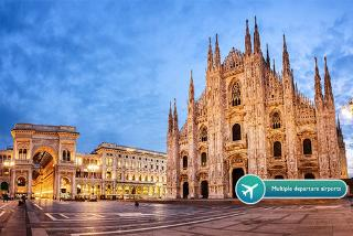 From £79pp (from Crystal Travel) for a two-night 4* Milan break with flights, or from £99pp for a three-night break - save up to 47%