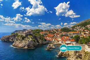From £549pp for a two-night hotel stay and a seven-night Italy, Greece and Dubrovnik full board cruise and flights - or pay a £200pp deposit now!