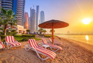 From £359pp (from Affordable Luxury Travel) for a three-night 5* Abu Dhabi escape including breakfast and flights - save up to 20%