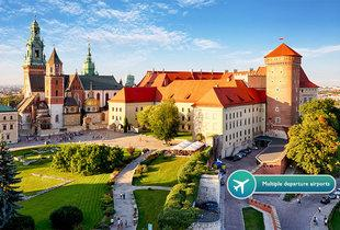 From £69pp (with Tour Center) for a two-night 4* Krakow spa stay with flights and Auschwitz tour option - save up to 39%
