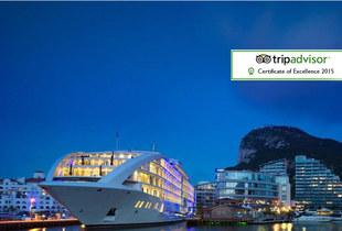 From £219pp (from Tour Center) for a two-night Sunborn Gibraltar yacht hotel break including flights, sap access and breakfast, from £419pp for a three-night stay - save up to 27%