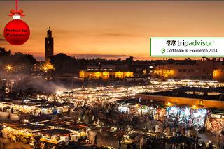 From £79pp instead of up to £125.19pp (from Clearsky Holidays) for a 5* 2nt Marrakech break, from £129 for 3nts – save up to 37%