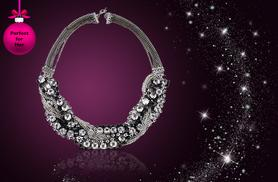 £8 instead of £32 (from Elle and Be) for an infinity statement necklace made with Swarovski Elements - save 75%