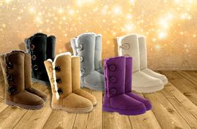 From £15 (from Shubox) for faux fur-lined snow boots in a choice of 6 colours - save up to 42%