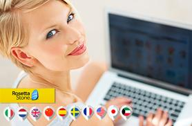From £39 for a Rosetta Stone Level 1 language course in one of 10 languages from Wowcher Direct - save up to 74%