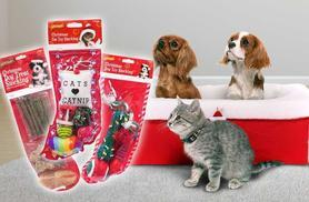 £3.99 instead of £8 (from Urshu) for a Christmas pet stocking in a choice of three designs or £5.99 for two - save up to 50%