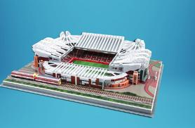 £14.99 instead of £30 for a choice of 3D football stadium puzzles from Wowcher Direct - save 50%