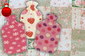 £6 instead of £12 (from Urshu) for a cosy hot water bottle in a choice of 9 designs, or £11 for 2 - save up to 50%