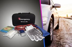£19.99 instead of £34.96 (from BGSL) for a 5-piece emergency drivers kit inc. jump start cables, first aid kit & more - save 43%