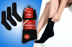 £4.99 (from Shuperb) for three pairs of thermal socks