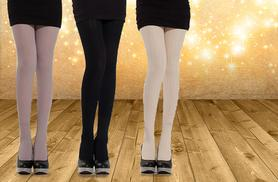 £8 instead of £24.99 (from Beautyfit) for 2 pairs of cable knit twist tights in a choice of colours - save 68%