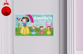 £4.99 instead of £20 (from Frame my Name) for a personalised children's door or wall sign - save 75%