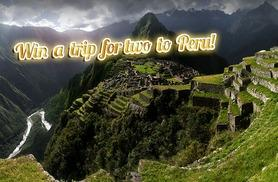We're giving you the chance to win an Inca Discovery Experience for two people worth £5,200!