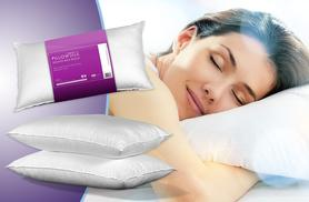 £8.99 instead of £50 (from Sleep Solutions) for 2 Bounce Back pillows, £15.99 for 4 pillows, £21.99 for 6, £26.99 for 8 - save up to 82%