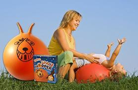 £9.99 instead of £29.99 (from Stock Nation) for a retro orange space hopper and hand pump - save a bouncing 67%