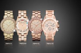 From £134 (from Castile Jewellery) for a Marc Jacobs ladies rose gold or gold tone watch in a choice of 4 designs - save up to 41% + DELIVERY INCLUDED
