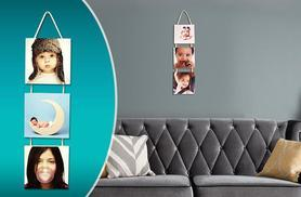 £8 instead of £39.99 (from Your Perfect Canvas) for a 3-piece hanging wooden panel photo canvas - save 80%