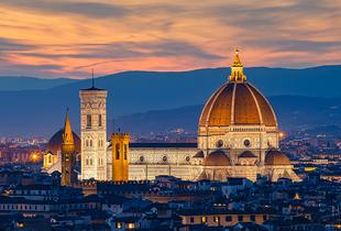From £129pp (from ClearSky Holidays) for a four-night Rome and Florence break with flights and trains with breakfast in Florence, from £199pp for six nights - save up to 42%