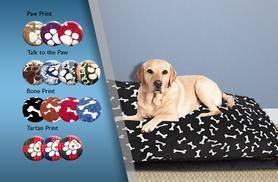 £6.99 instead of £29.99 (from Groundlevel.co.uk) for a large waterproof-backed pet bed - pick from 14 designs and save 77%