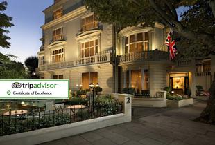 From £79 (at The Colonnade Hotel) for a 4* overnight London stay for two people with breakfast - save up to 44%