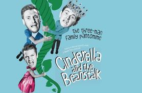£10 instead of up to £15 for a ticket to see 'Cinderella and the Beanstalk' at Theatre503, Battersea - save up to 33%