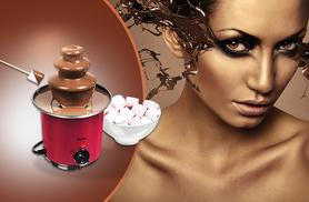 £19.99 instead of £79.99 for a mini three-tier Elgento chocolate fountain from Wowcher Direct - save 75%